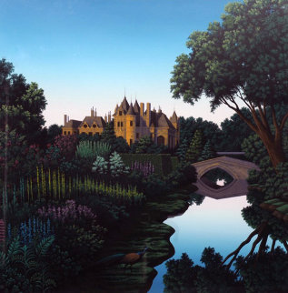 Morning on the Cher Limited Edition Print - Jim Buckels