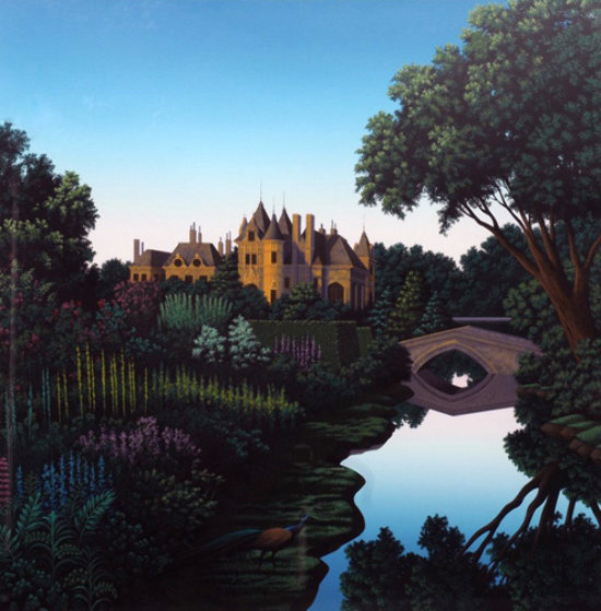 Morning on the Cher Limited Edition Print by Jim Buckels