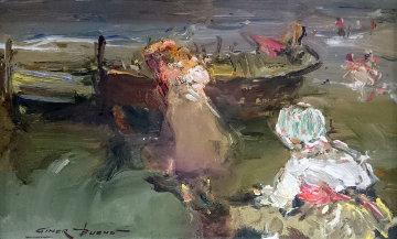 Untitled Painting Original Painting - Giner Bueno