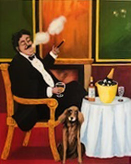 Mans Best Friend AP w Remarque 1977 Limited Edition Print by Guy Buffet