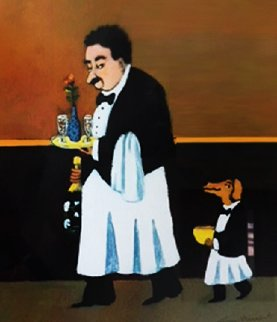 Epicurean Suite, Suite of 4  1999 Limited Edition Print - Guy Buffet