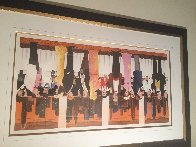 Wine Tasting Limited Edition Print by Guy Buffet - 1