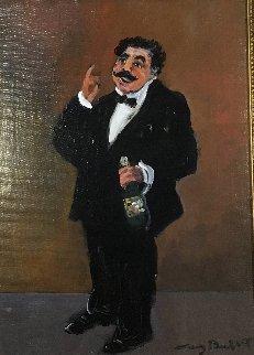 Emile 25x21 Original Painting - Guy Buffet