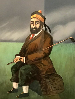 Golf Suite (Set of 4) 1994 Limited Edition Print by Guy Buffet