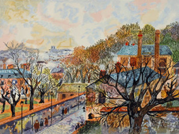 Paris Novembre Limited Edition Print - Guy Buffet