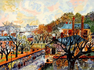 Paris Novembre  Limited Edition Print by Guy Buffet