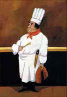 Chef Albert Limited Edition Print by Guy Buffet - 1