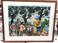 Pau Hana AP   Aka Happy Hour Limited Edition Print by Guy Buffet - 1
