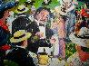 Grand Prix 1986 49x50 Original Painting by Guy Buffet - 3