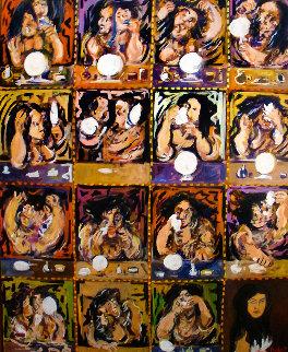 Beautiful at Last 40x32 Super Huge Original Painting - Guy Buffet