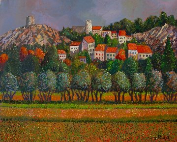 Provence: Eygalieres 30x40 France Original Painting by Guy Buffet