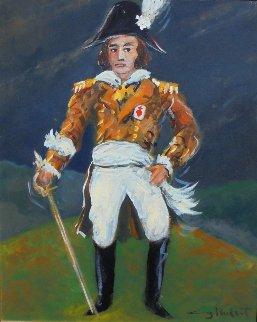 Napoleon Le Chouan  1989 24x26 Original Painting by Guy Buffet
