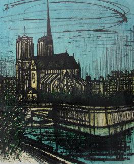 Notre Dame De Paris 1968 Limited Edition Print by Bernard Buffet