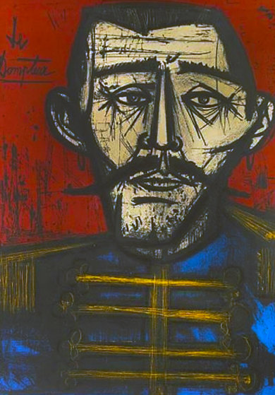Le Dompteur 1968 Limited Edition Print by Bernard Buffet