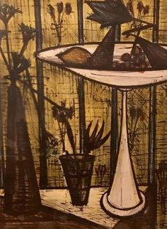 Untitled Lithograph Limited Edition Print - Bernard Buffet