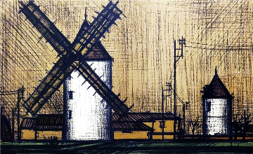 Le Moulin 1995 Limited Edition Print - Bernard Buffet