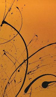 Heat Wave 2015 50x87 Huge Original Painting - Elena Bulatova