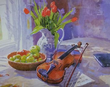 In the Music Room Limited Edition Print by Simon Bull
