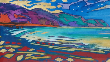 Beyond These Shores 1998 Embellished Limited Edition Print by Simon Bull