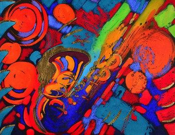 Deep South 1997 35x40 Huge Works on Paper (not prints) - Simon Bull