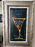 Happy Hour IV-II 2007 32x20 Original Painting by Simon Bull - 2