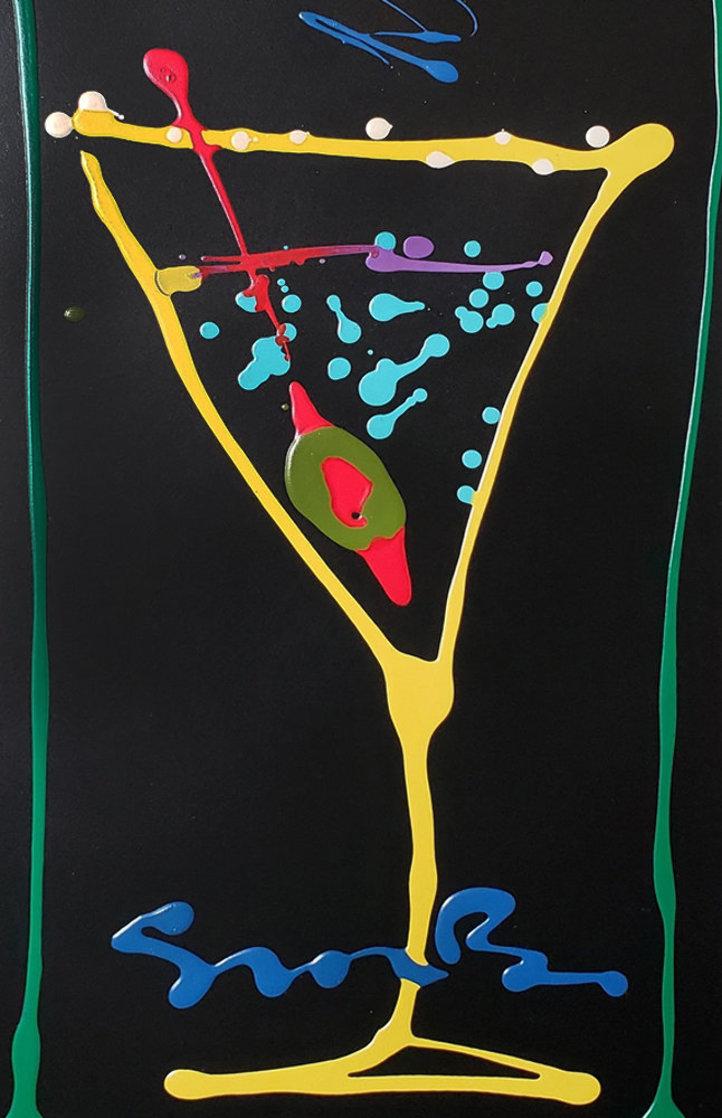 Happy Hour IV-II 2007 32x20 Original Painting by Simon Bull