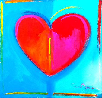 Love is in the Air I 36x36 Original Painting by Simon Bull
