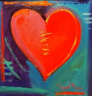 Love is in the Air IV 2008 34x34 Original Painting by Simon Bull - 1