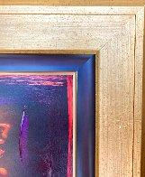 Oriental Love VIII Original 21x21 Original Painting by Simon Bull - 6