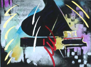 Rhythm Limited Edition Print by Simon Bull