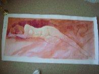 Dream Time 2000 24x54 Super Huge Original Painting by Simon Bull - 1