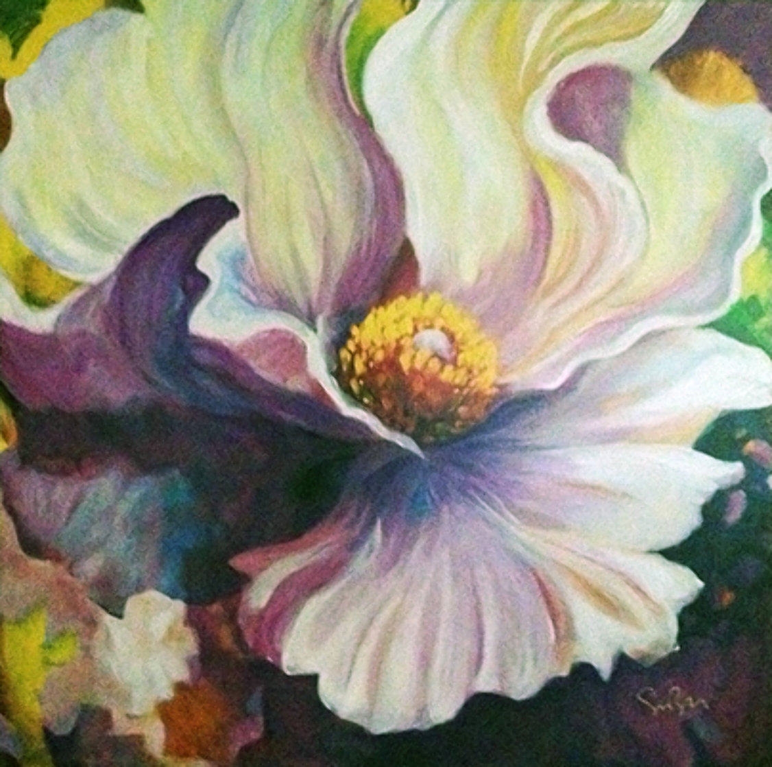 Surrender 2006 Embellished Limited Edition Print by Simon Bull