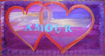 Amour VI 2007 20x30 Original Painting - Simon Bull