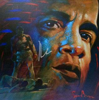 Legacy - Muhammad Ali 35x35 Original Painting by Simon Bull