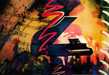 Pianoforte AP Limited Edition Print by Simon Bull
