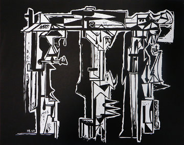 Death of Gorky 1985 Limited Edition Print by Hans Burkhardt