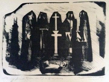 Mexico 1956 Limited Edition Print - Hans Burkhardt