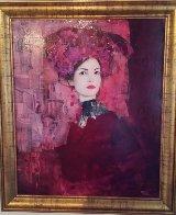 Le Modele 2003 33x28 Original Painting by Richard Burlet - 1