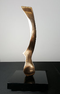Wind Knife Bronze Sculpture 2013 13 in Sculpture - Joseph Burlini