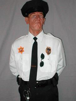 Sylvester (Security Guard) Life Size Sculpture - Rob Burman