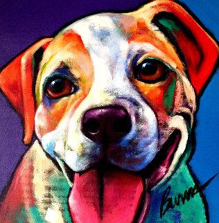 Peace 2007 12x12 Original Painting - Ron Burns