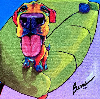 Couch Pawtato, Lazy Daisy And Let's Chat (Set of 3) 2009 Limited Edition Print by Ron Burns