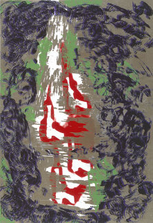 Avarice Suite of 2 1991 Limited Edition Print by William S. Burroughs
