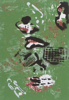 Envy Suite of 2 1991 Limited Edition Print by William S. Burroughs