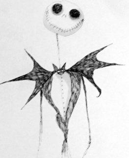 Jack Skellington  Limited Edition Print - Tim Burton