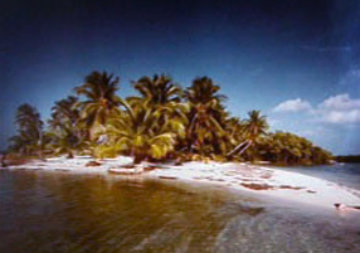 Paradise in the Keys 1984 Panorama - Clyde Butcher