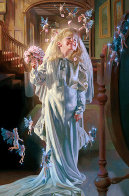 Study in White  1997 Limited Edition Print by Bob Byerley - 0