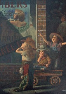 Matinee 1997 Limited Edition Print by Bob Byerley