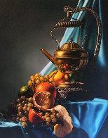 Still Life 1983 26x22 Original Painting by Bob Byerley - 0