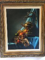 Still Life 1983 26x22 Original Painting by Bob Byerley - 1